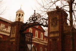 The Harvard Gates