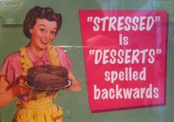 Stressed Poster