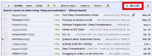 how to cure deep procrastination study hacks cal newport the deep procrastination crisis